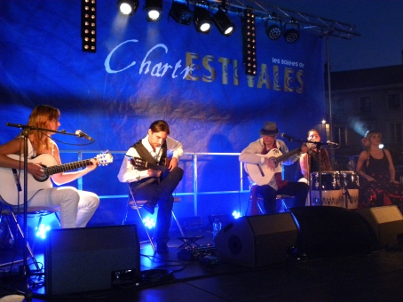 1000 personnes aux estivales de Chartres