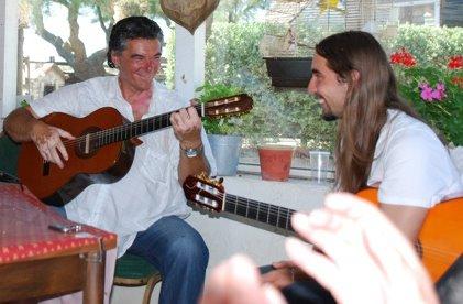 Skaya et Nanasso Baliardo , neveu de MANITAS DE PLATA