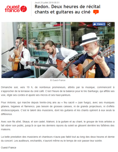 ouest france 2019