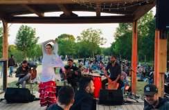 groupe flamenco avec danseuse